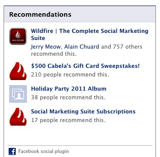 recommendations of