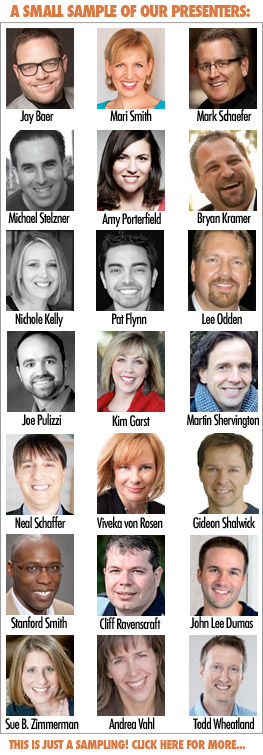 Social Media Success Summit 2014: Largest Online Event