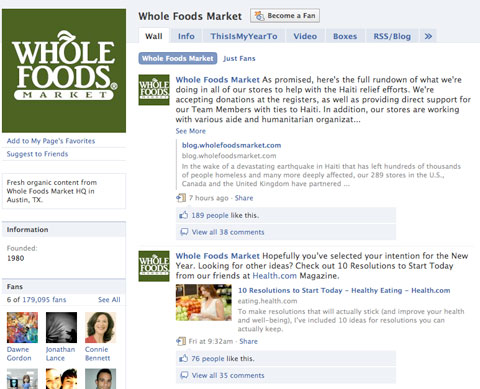 Reaching Millions With Twitter The Whole Foods Story Social Media