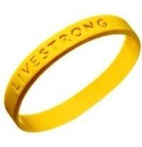 Livestrong gelbes Armband