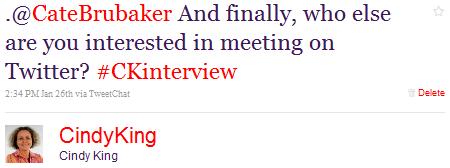 twitter interview conversation