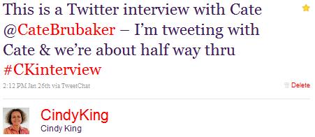 half way through twitter interview