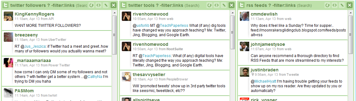 Twitter Keyword Tracking