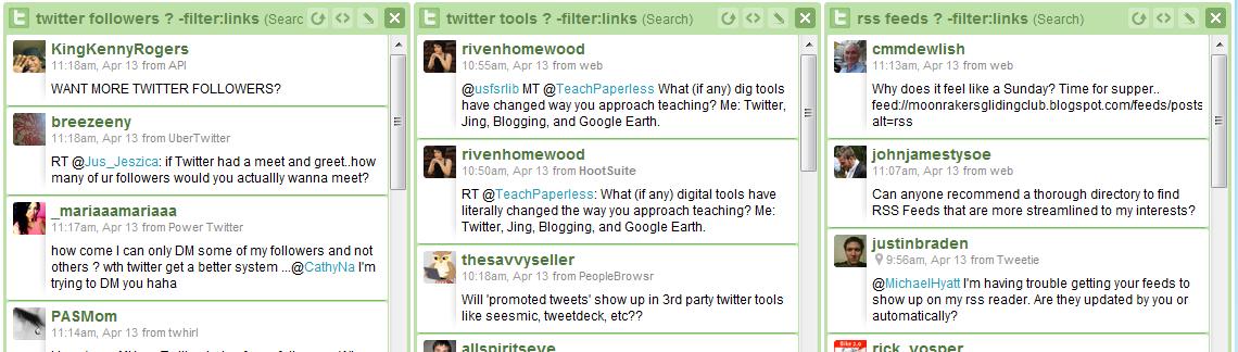 Twitter Keyword Tracking