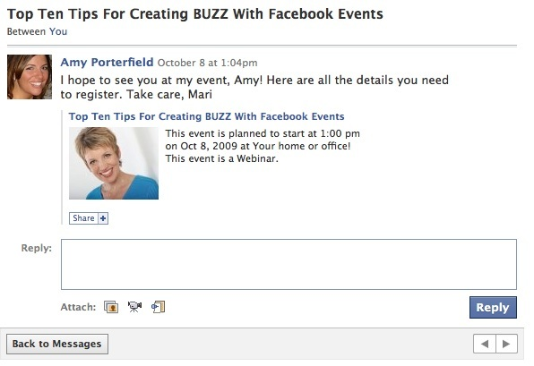 10 Tips for Creating Buzz With Facebook Events Social ...