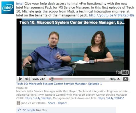 intel videos on facebook