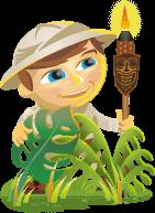 "Mascote Scout para o Social Media Examiner ""width ="" 141 ""height ="" 193"