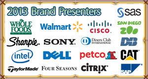 List of attending brands