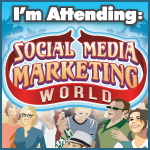 I'm attending Social Media Marketing World 2013