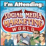 I'm attending Social Media Marketing World 2013