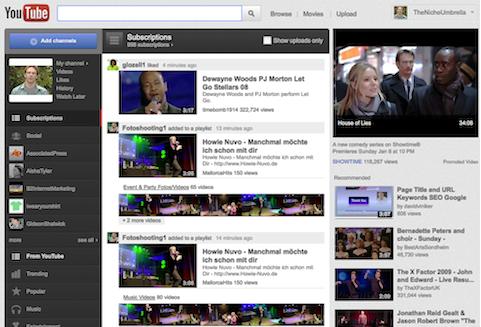 homepage youtube secrets