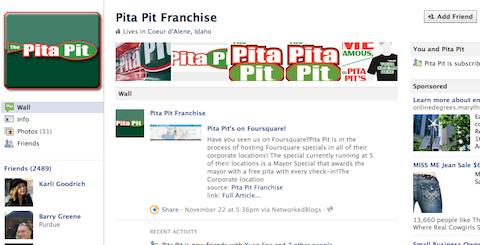 Facebook-Seitenmarketing