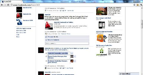 autocad facebook