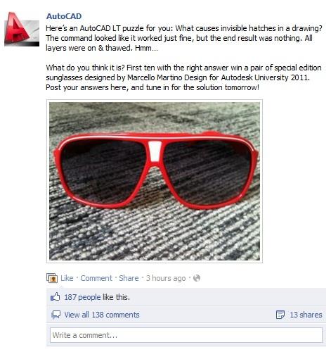 autocad sunglass quiz