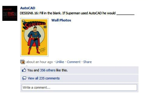 autocad superman