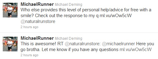 michael runner tweets two