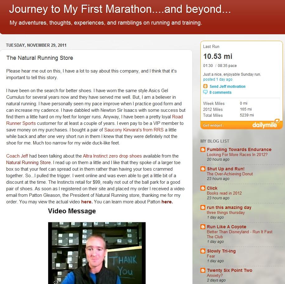 Läufer Blog