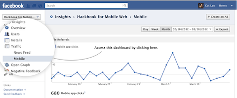 facebook mobile referrals