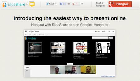 slideshare google hangout