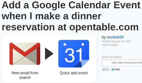 google calendar event