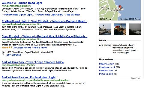 google seo portland headlight