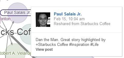 Starbucks teilt Hashtags