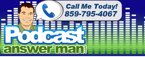 Podcast Antwort Mann