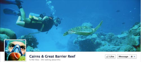 cairns great barrier reef cover photo