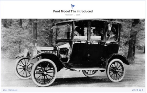 ford milestones page