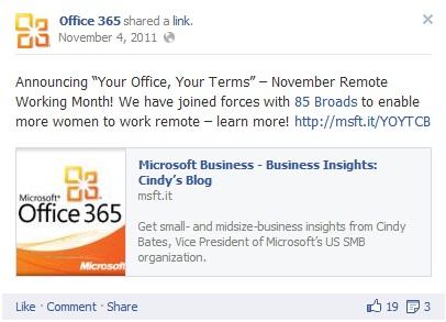 Facebook 85 Broads