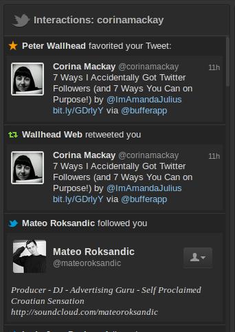 tweetdeck interactions