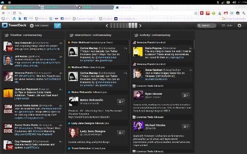 tweetdeck main