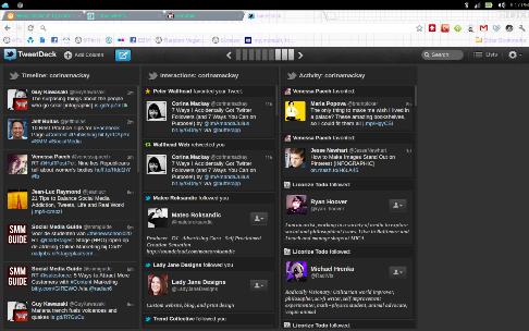 tweetdeck main