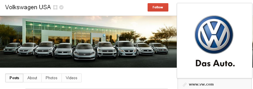 volkswagen page