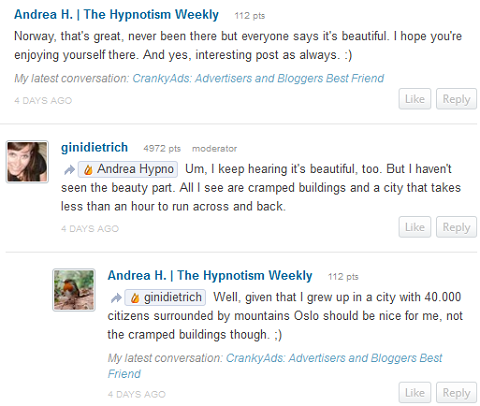 19 Ways to Build Relationships With Blog Comments : Social