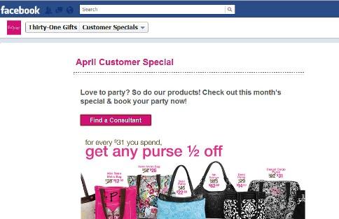 31 bags discounts