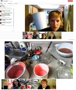 google hangout business social media