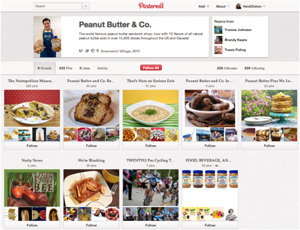peanut butter co pinterest