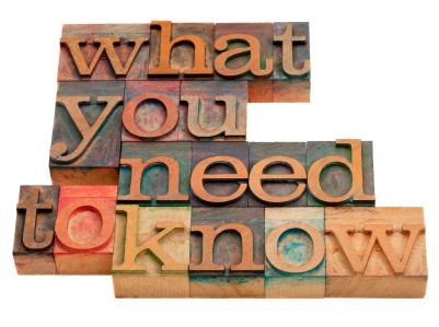 Was du wissen musst