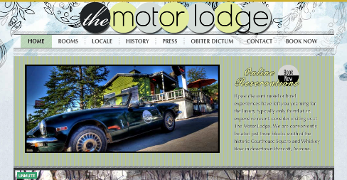 motor lodge website