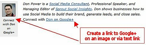 create a link