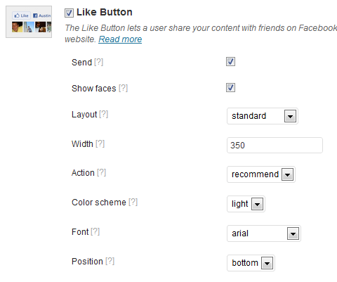 add like button