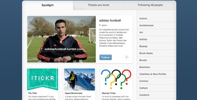 adidas sports page