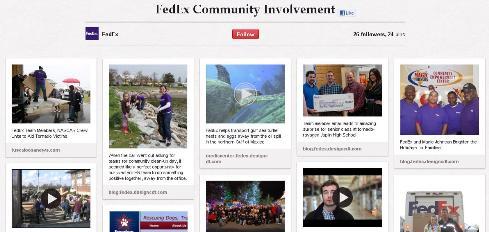 fedex community involvement