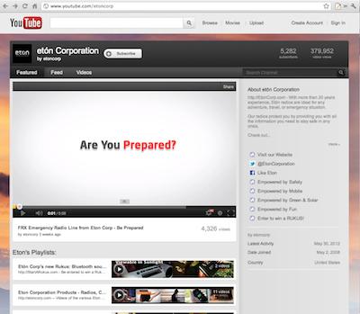 eton corporation youtube