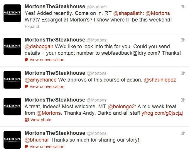 morton's tweet