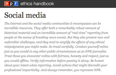 npr ethics