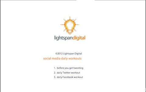 social media workouts