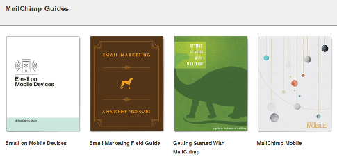 mail chimp guides