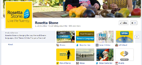 """strategic plan rosetta stone Rosetta stone focuses on """"the most prolific devices"""" iphone and samsung and ipad and chrome book """"if we focus there, we cover the bulk of the market"""" both domestically and internationally."""